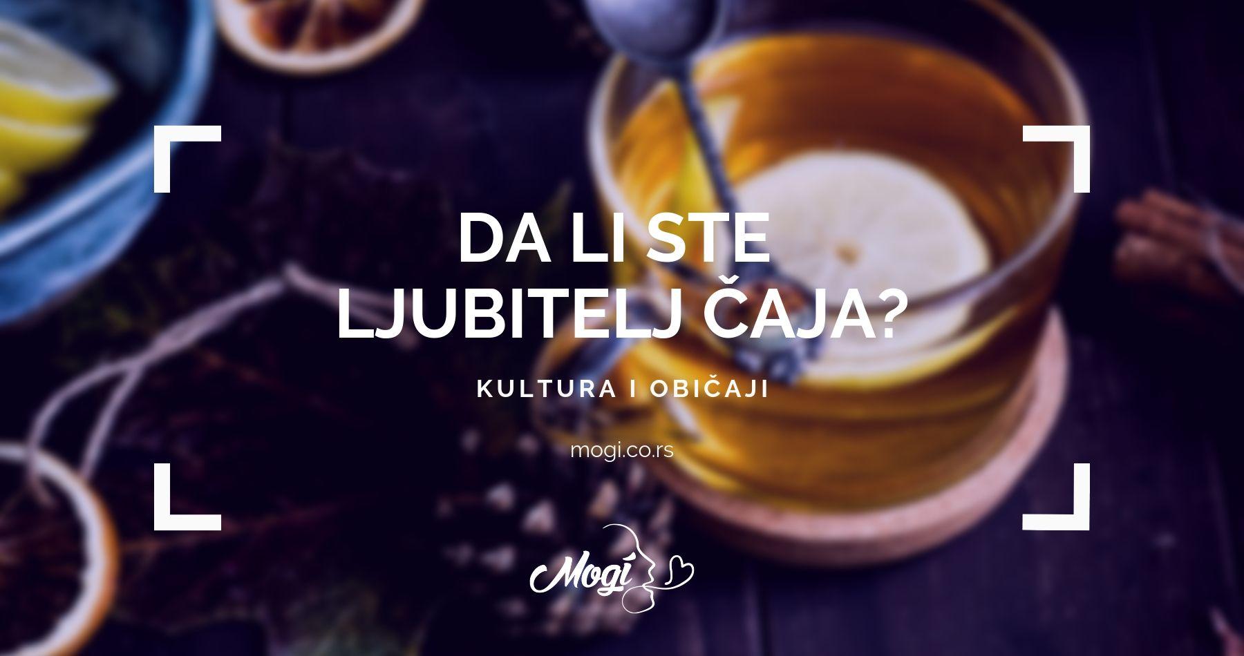 Kultura ispijanja čaja na blogu Mogi škole stranih jezika