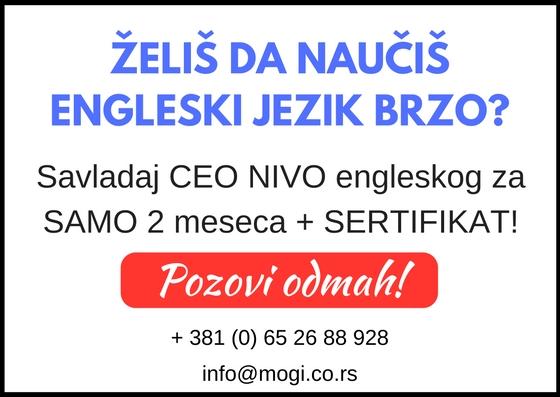 Kurs engleskog jezika Beograd škola Mogi