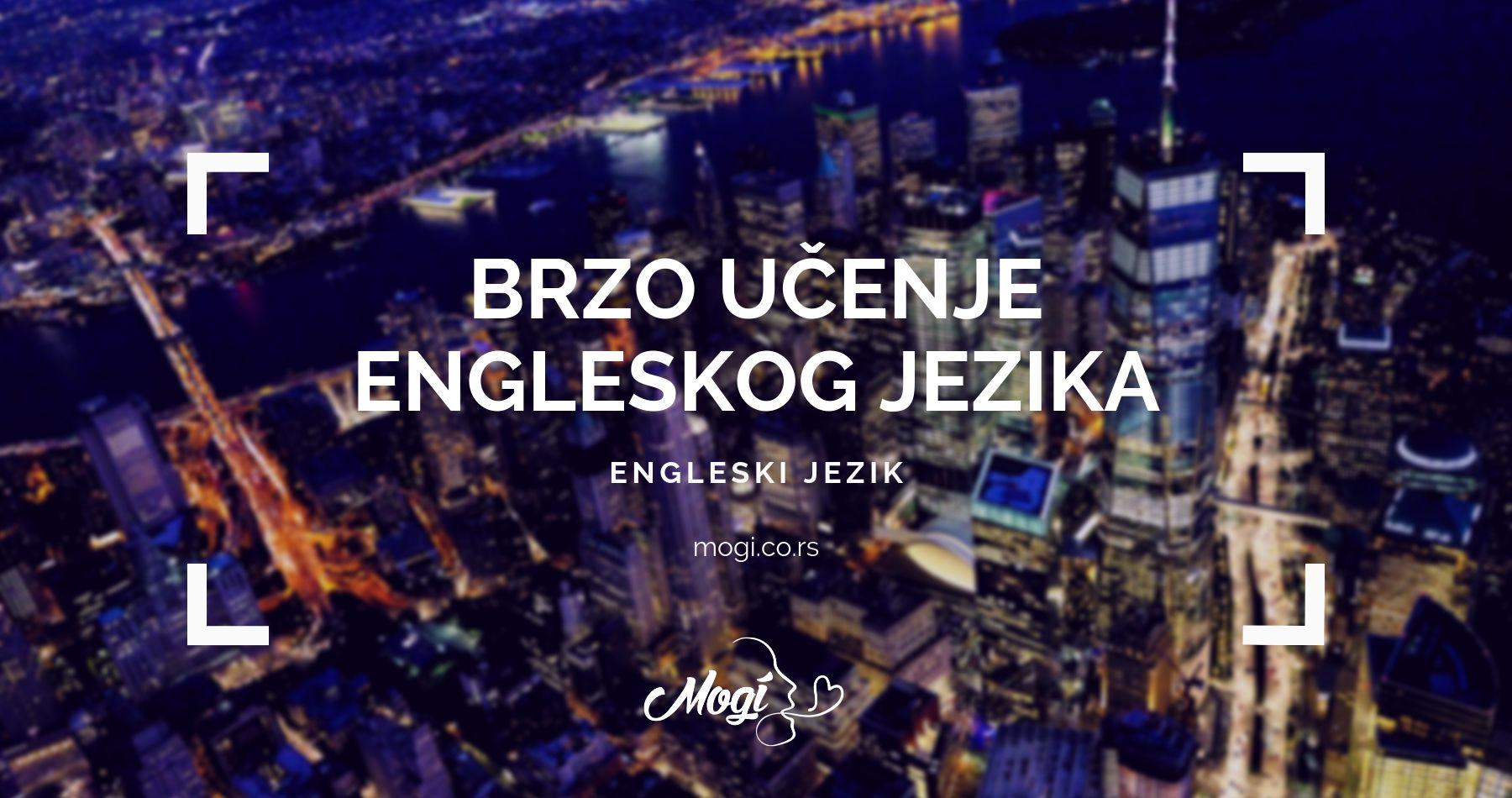U školi jezike Mogi pomoći ćemo vam da brzo savladate engleski jezik