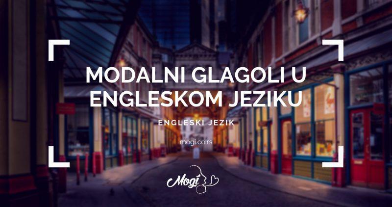 U školi jezilka Mogi upoznajemo samodalnim glagolima u engleskom jeziku