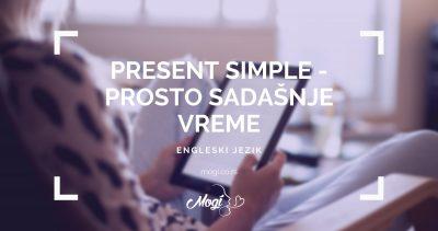 Sadašnje prosto vreme u engleskom jeziku, Sadašnje trajno vreme u engleskom jeziku, tekst na blogu škole za jezike Mogi