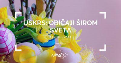 Kako se slavi Uskrs širom sveta, foto sa bloga škole za strane jezike Mogi