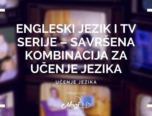 Engleski jezik i TV serije – Savršena kombinacija za učenje jezika