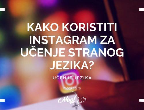 Kako koristiti Instagram za učenje stranog jezika?