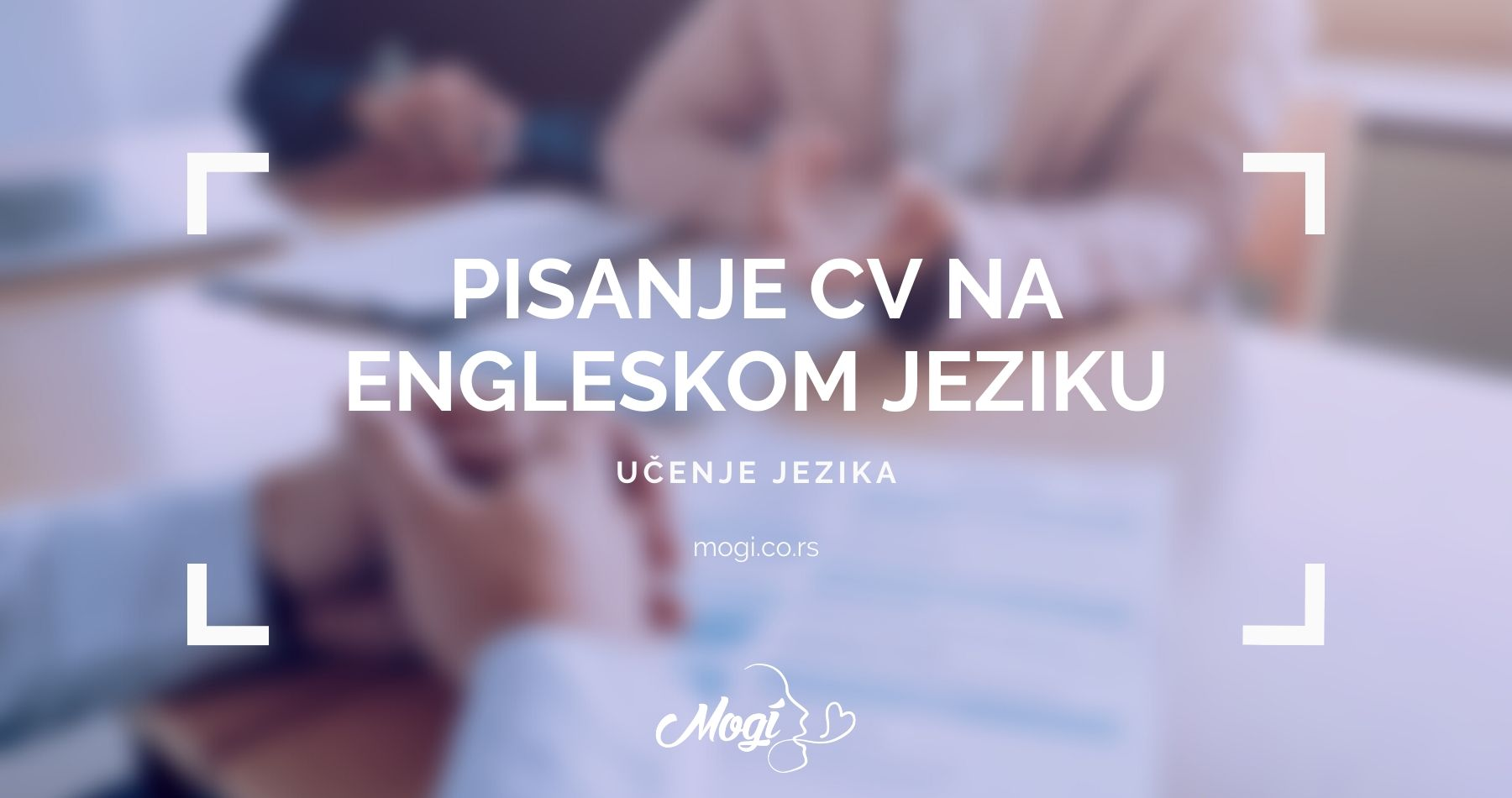 CV na engleskom jeziku