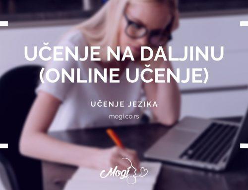 Učenje na daljinu (Online učenje)