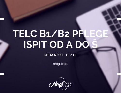Telc B1/B2 Pflege ispit od A do Š