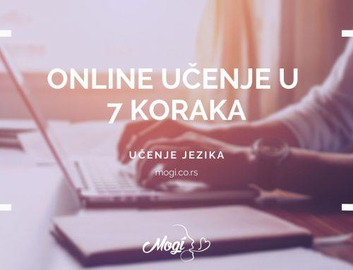 Online učenje u 7 koraka