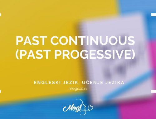 Past Continuous (Past Progessive)