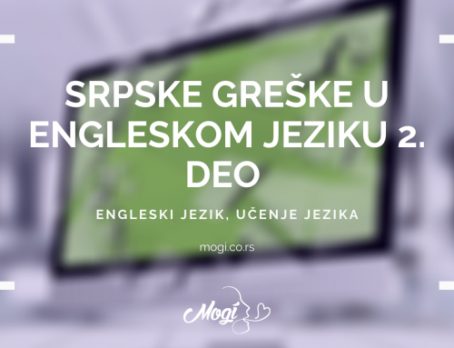 Srpske greške u engleskom jeziku 2. deo
