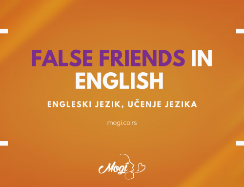 "False friends in English / ""Lažni prijatelji/parovi"" u engleskom"