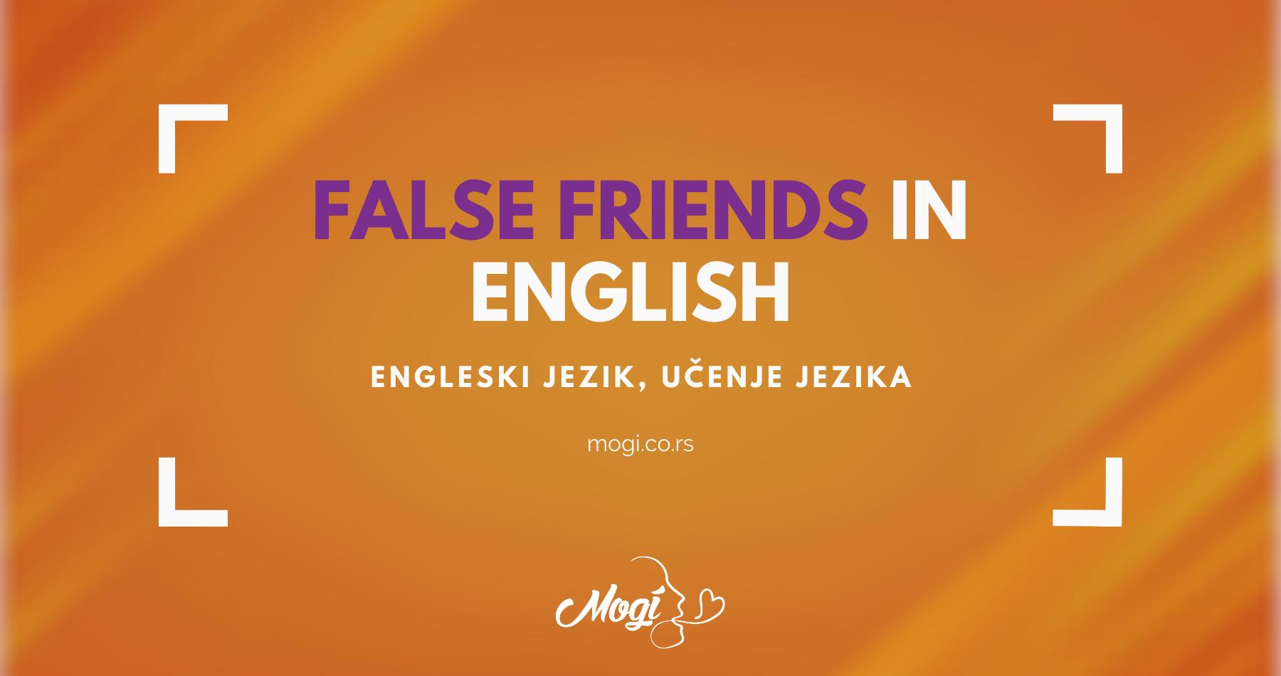 Lažni prijatelji