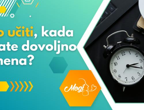 Kako učiti, kada nemate dovoljno vremena?
