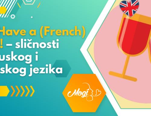 Let's Have a (French) Toast! – sličnosti francuskog i engleskog jezika