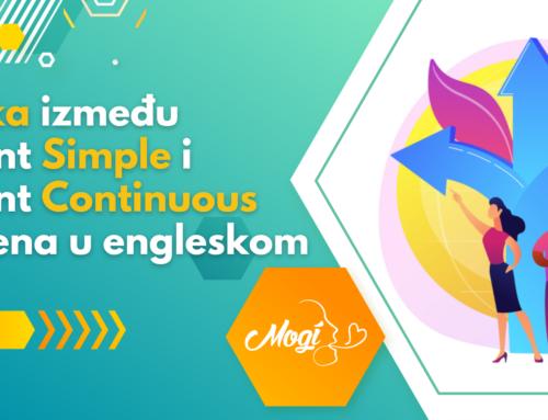 Razlika između Present Simple i Present Continuous vremena u engleskom jeziku
